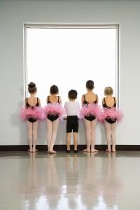studio vibe dancer in window